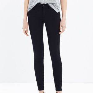 <Madewell> Skinny Skinny Jeans Solid Black Jegging